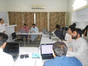 Training Course Underway
